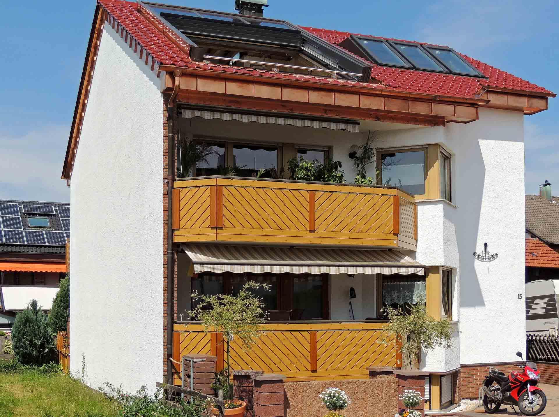 OpenAir Dachschiebefenster in Schönaich (Objekt 1123).