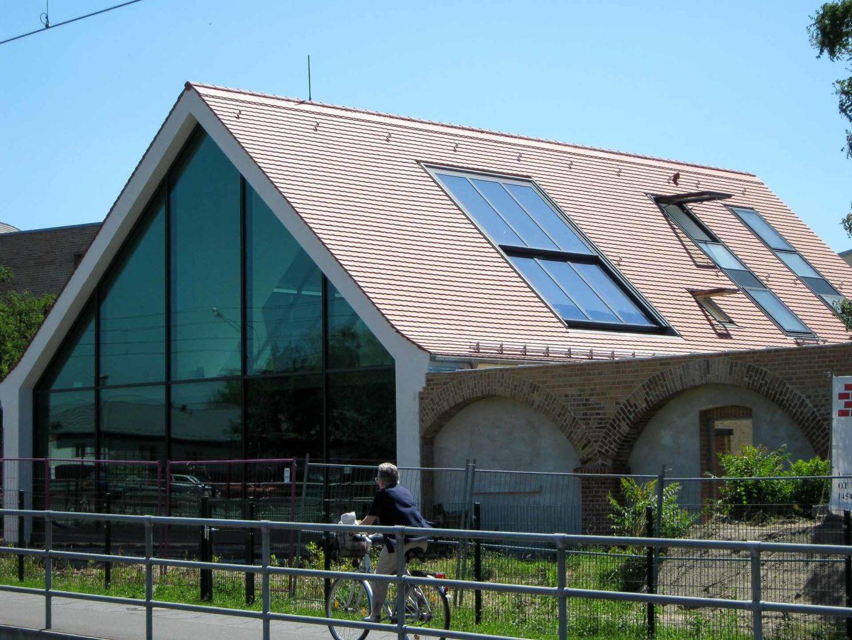 2-teiliges OpenAir Dachschiebefenster in Potsdam (Objekt 1127). Besonderer Vorteil dieses 2-teiligen OpenAir Dachschiebefensters ist der flächenbündige Einbau.