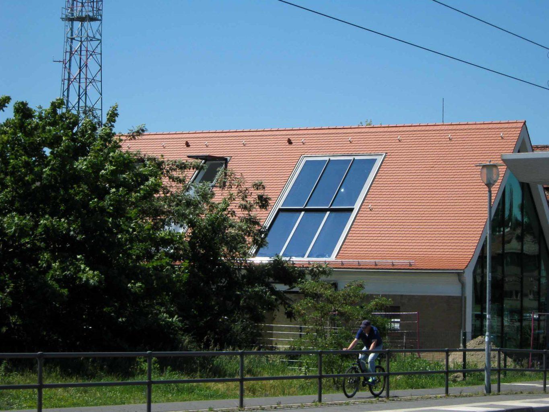 2-teiliges OpenAir Dachschiebefenster in Potsdam (Objekt 1127). 2-teiliges OpenAir Dachschiebefenster - 350 cm breit und 680 cm hoch