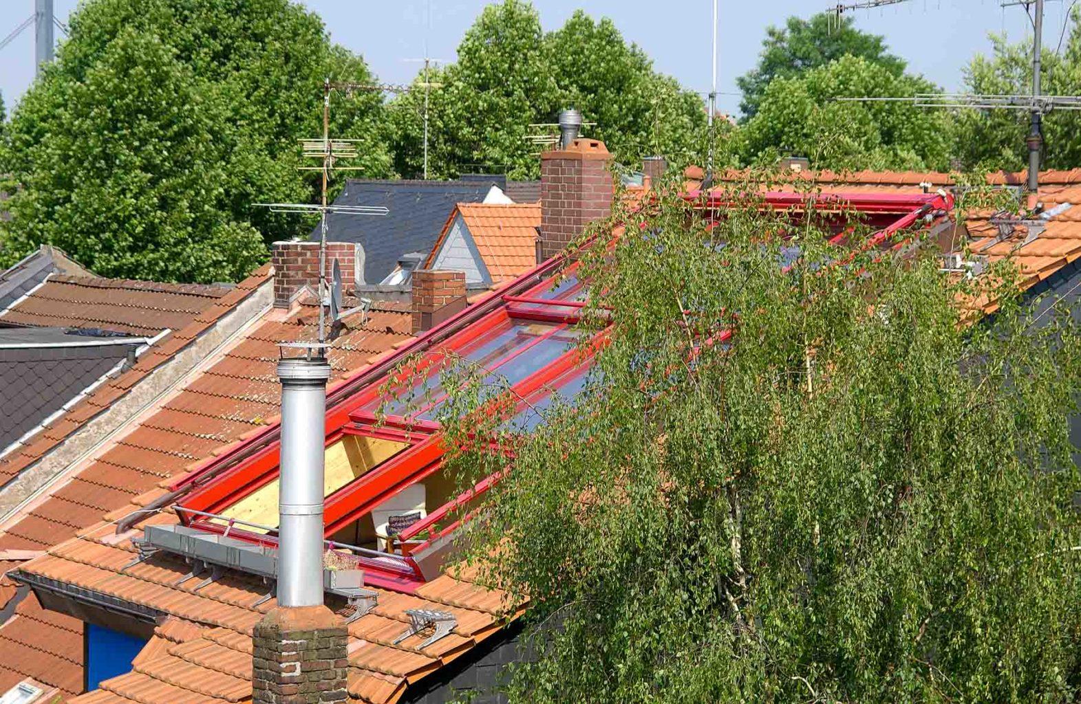 3 teiliges OpenAir Dachschiebefenster in Düsseldorf (Objekt 729.