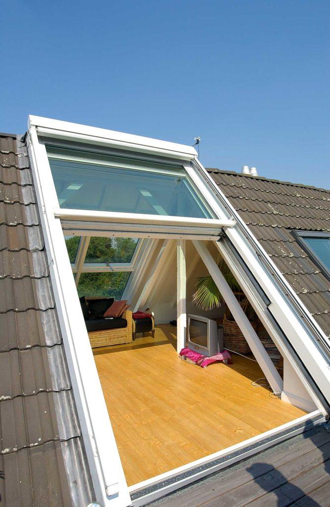 3 teiliges Dachschiebefenster in  Düsseldorf (Objekt 848).