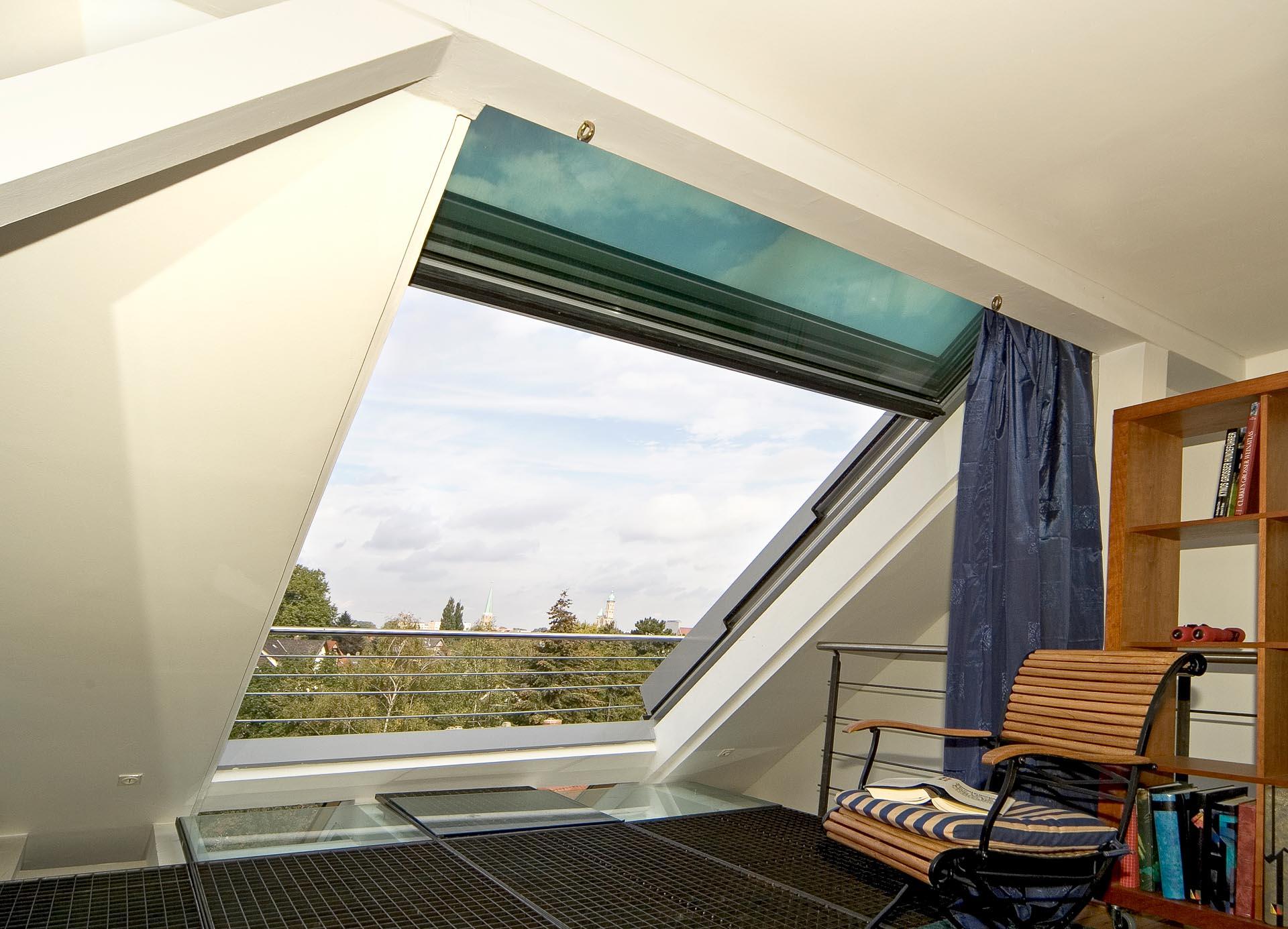 4 teiliges OpenAir Dachschiebefenster in Braunschweig (Objekt 95.