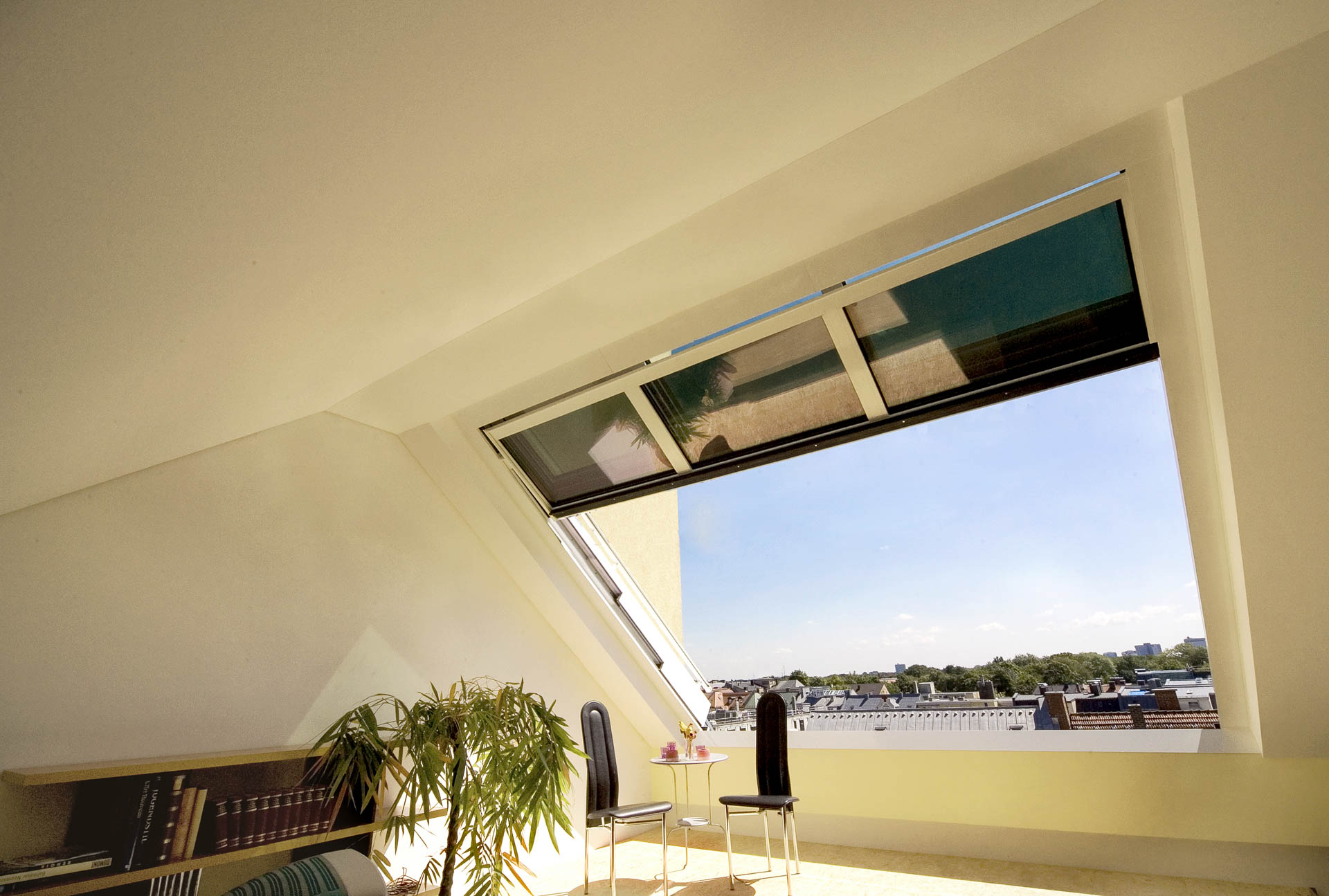 """Dachfenster bieten Genuss von """"Offenheit"""""""