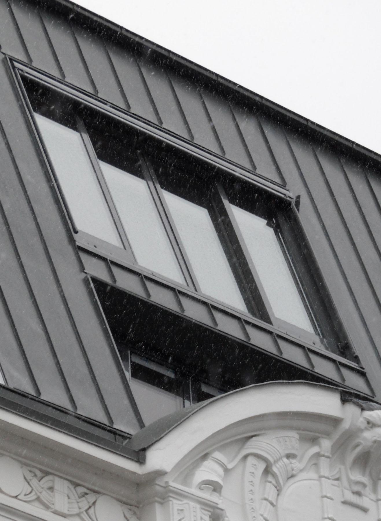 4-teiliges Panorama Dachschiebefenster in Hamburg (Objekt 1068).