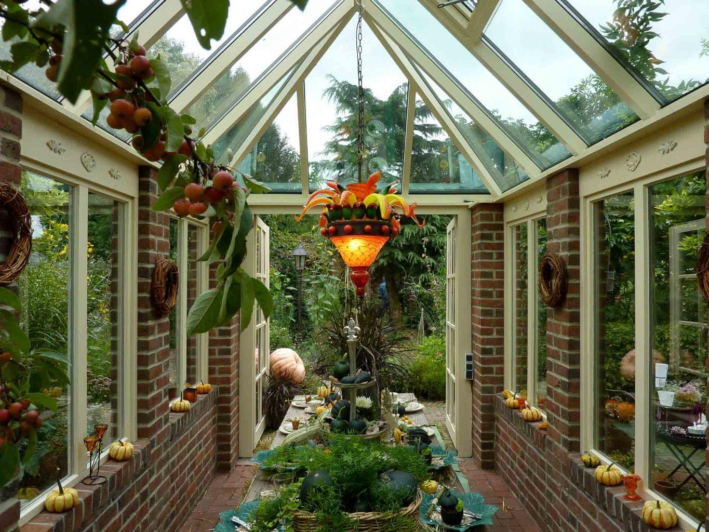 DecoArt Wintergarten in Borken (Objekt 1097). Der Schau- und Dekorationswintergarten im Garten Picker in Borken-Weseke