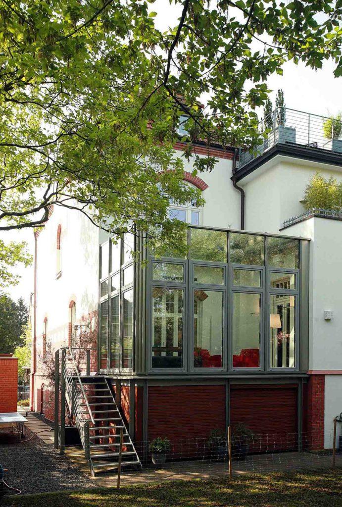FineArt Wintergarten in Köln (Objekt 988). Fast wie im Freien, aber behaglich zu jeder Jahreszeit durch Multi-Funktionsgläser