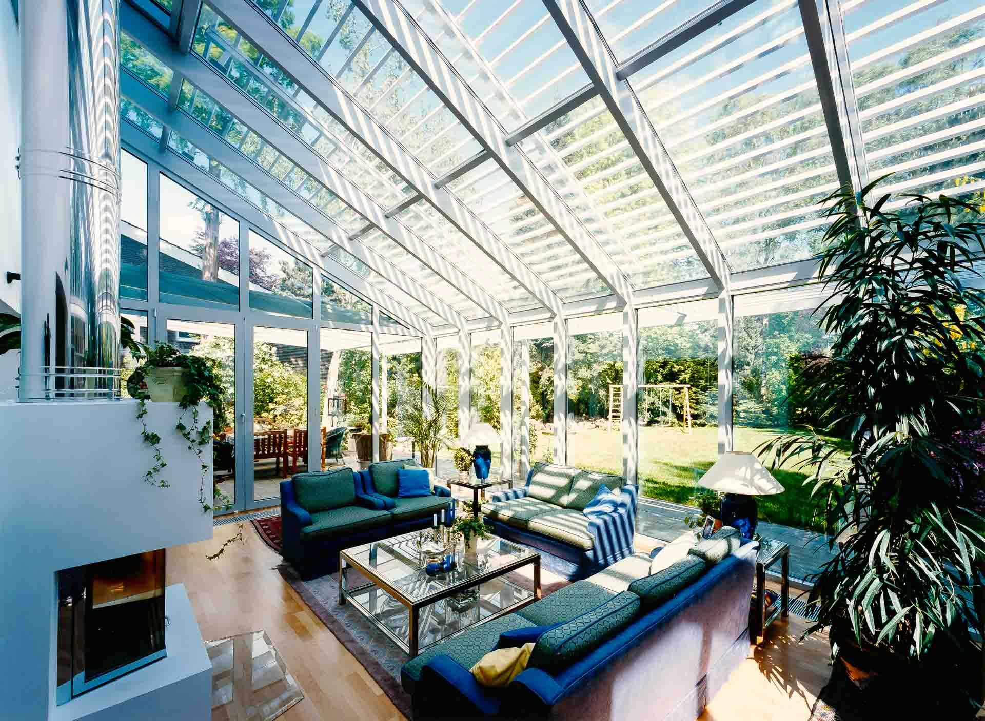 Wohnwintergarten als Bestandteil moderner Architektur