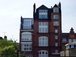 4-teiliges OpenAir Dachschiebefenster in London (Objekt 1069). OpenAir Dachfenster geschlossen