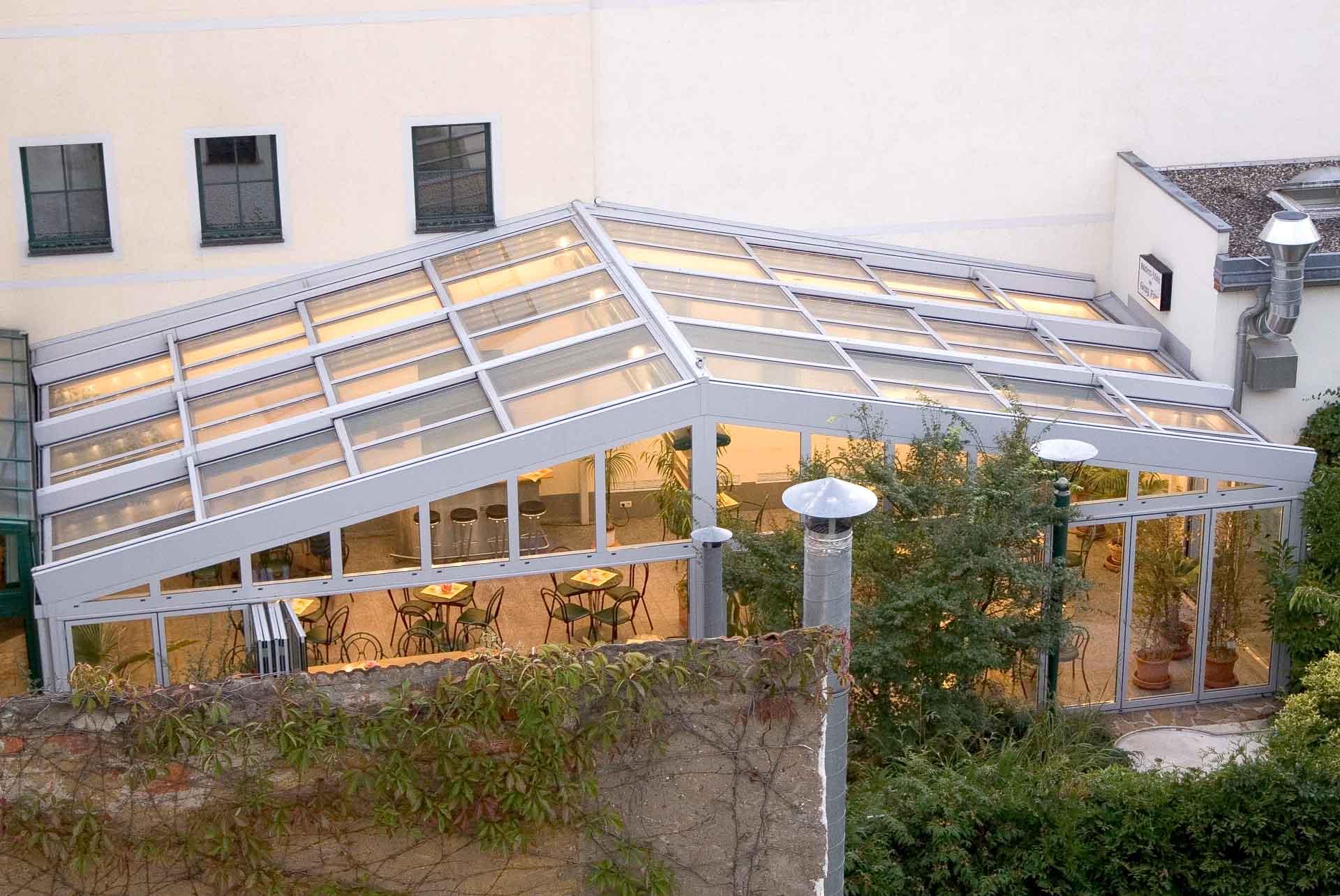 OpenAir-Schiebedach in Wintergarten in Großenhain (Objekt 950).