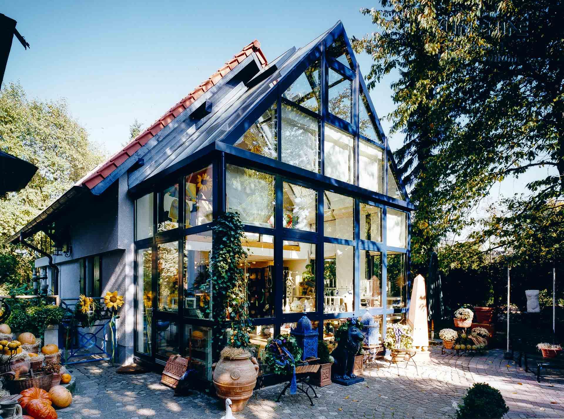 Wintergarten in Bochum (Objekt 514). Die EcoSun-Wärmedämmung schafft ein angenehmes Klima bei Wintergartenhäusern
