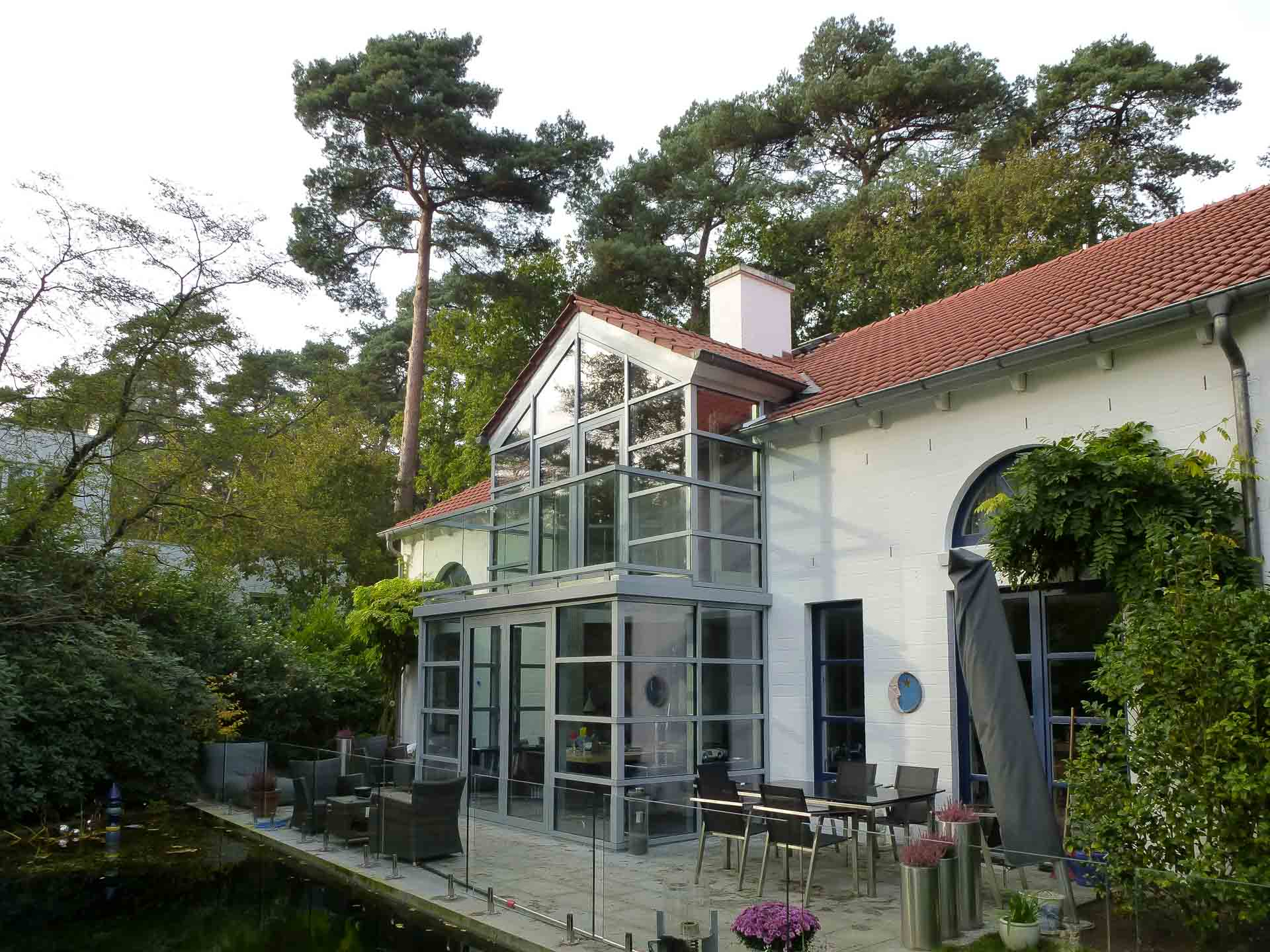 Holz-Wintergarten modernisieren