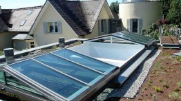 2-part Cabrio-sliding roof in Koenigstein